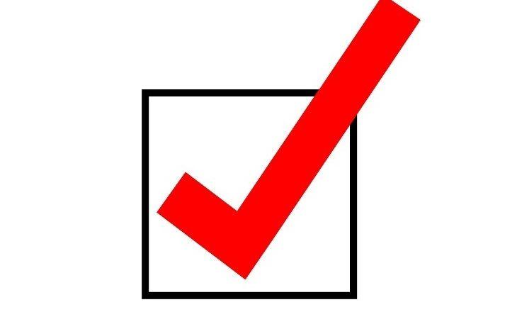 Imagen de un check box
